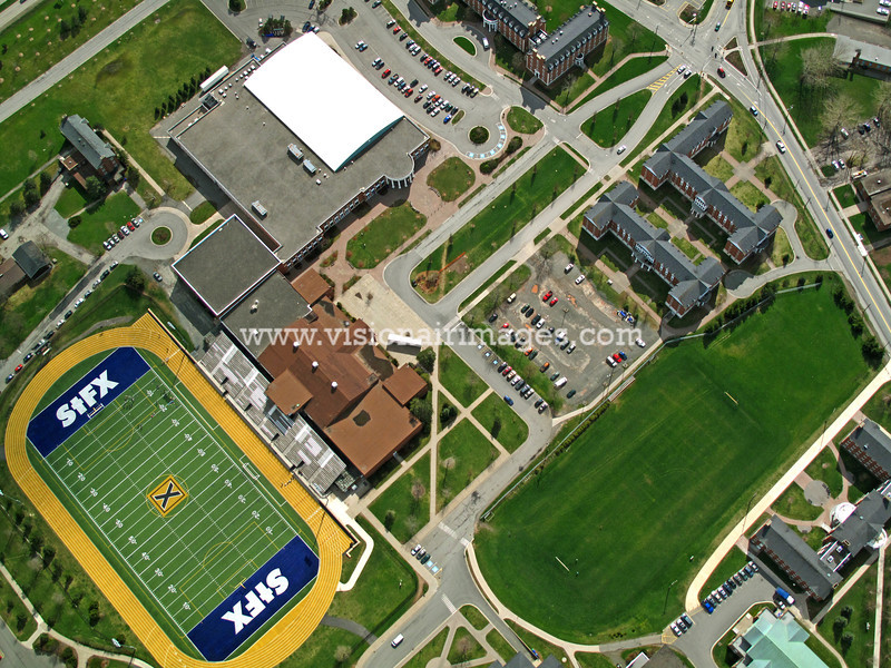 St. Francis Xavier University Aerial, Spring, 2012, Antigonish, NS