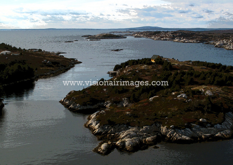 Simmons Island, Peggys Cove Wilderness Area, Nova Scotia, Canada