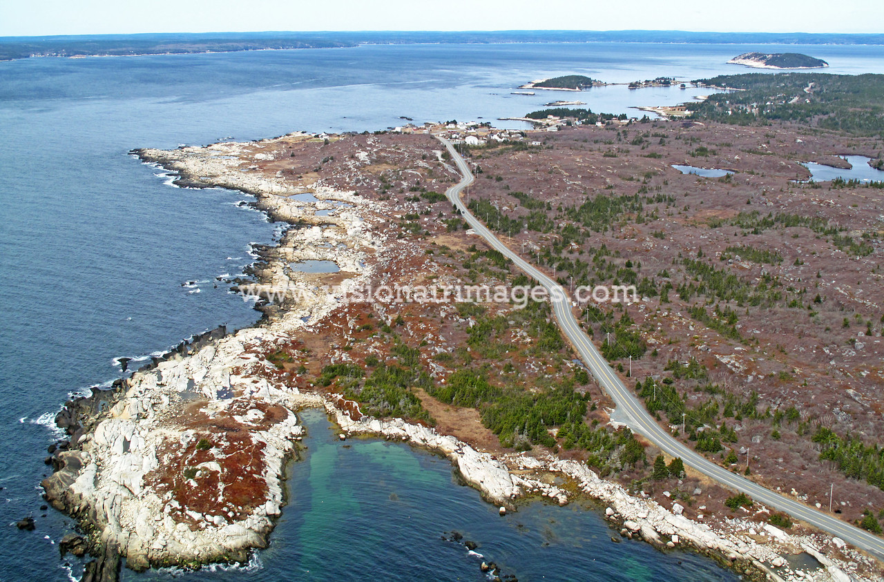Peggy's Cove Road, Indian Harbour, Shut In Island, St. Margaret' Bay, Route, 333, Halifax, Nova Scotia, Canada