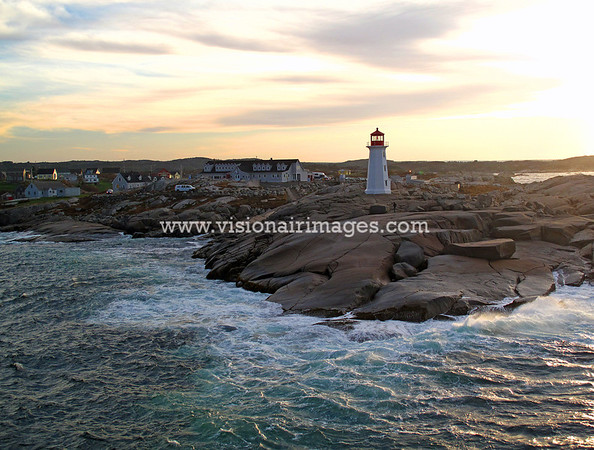 Peggy's Cove, Peggy's Cove Light, Nova Scotia, Canada