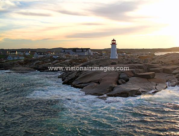 Peggy's Cove, Peggy's Cove Light, Nova Scotia, Canada