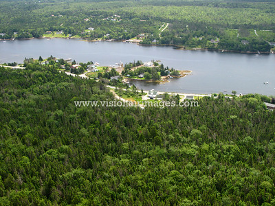 Crane Cove, Prospect Bay, Shad Bay, Lighthouse Route Aerial, Nova Scotia, Canada