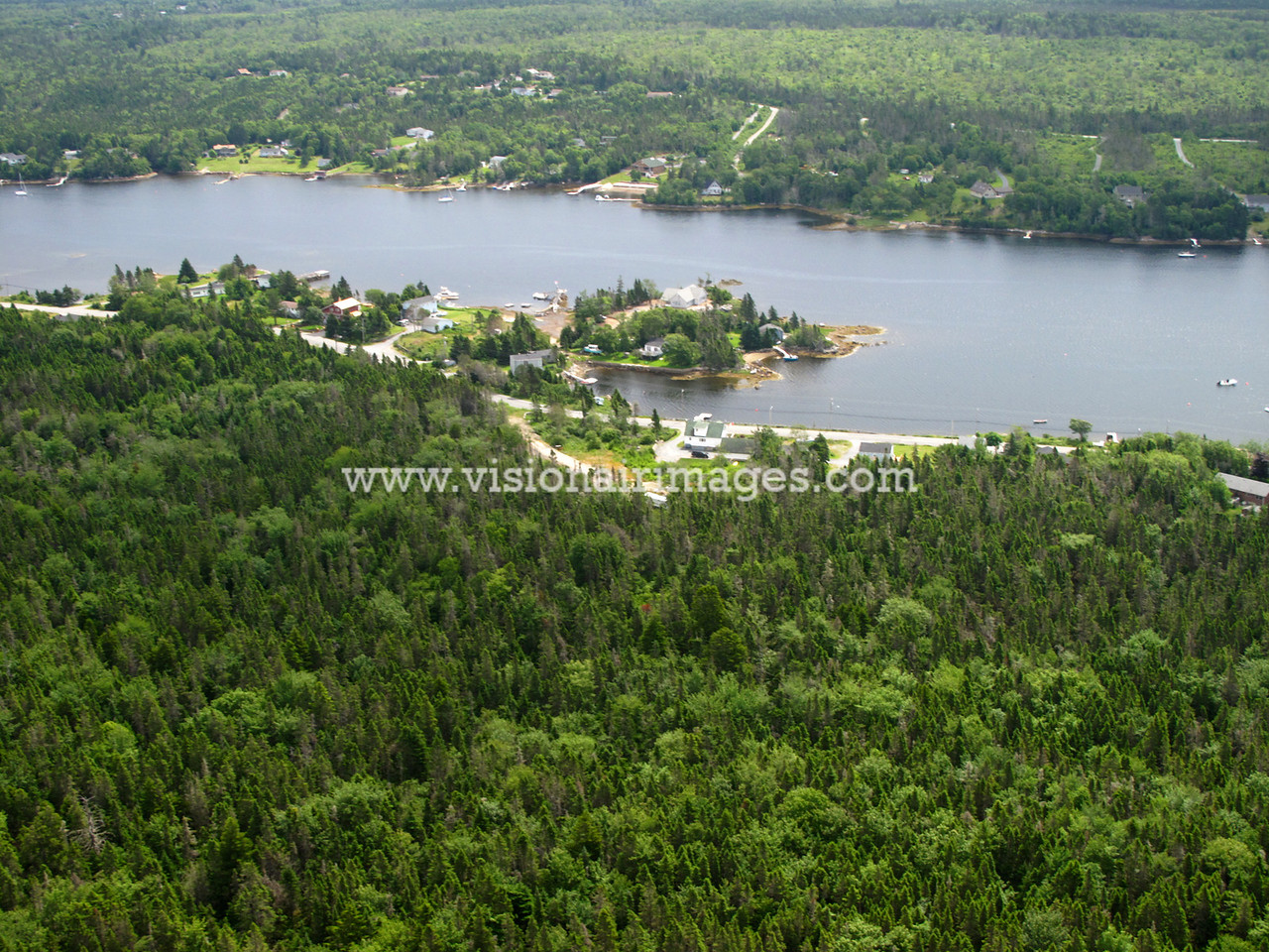 Crane Cove, Prospect Bay, Shad Bay, Lighthouse Route Aerial, Nova Scotia, Canada