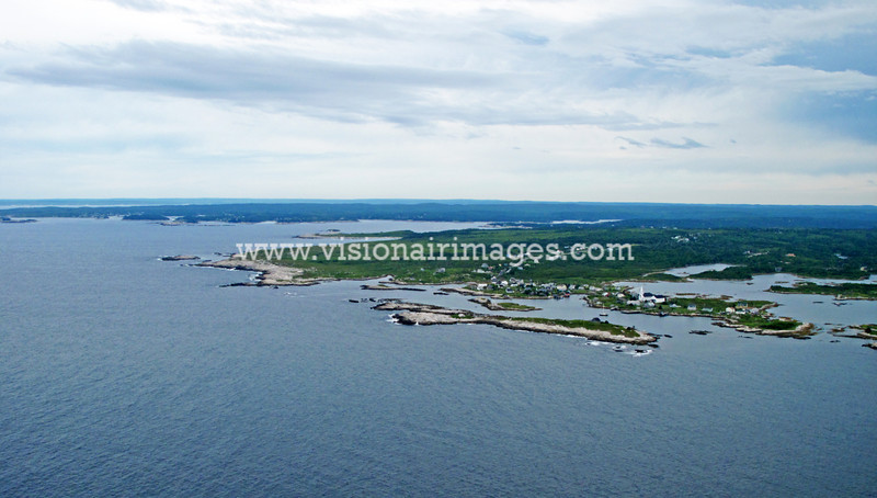 Prospect Village, High Head Trail, Prospect, Shad Bay, Lighthouse Route Aerial, Nova Scotia, Canada