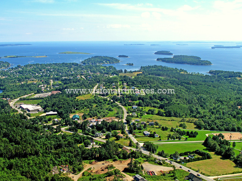 Chester, Village of Chester, Aerial, Lighthouse Route, Nova Scotia, Canada