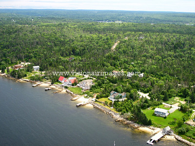 Brennans Road, Prospect, Shad Bay, Lighthouse Route Aerial, Nova Scotia, Canada