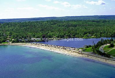 Queensland Beach Aerial, taken August, 2009