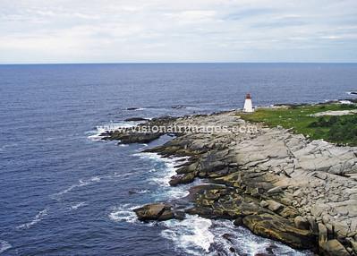Betty's Island Light, Prospect, Halifax, Nova Scotia,