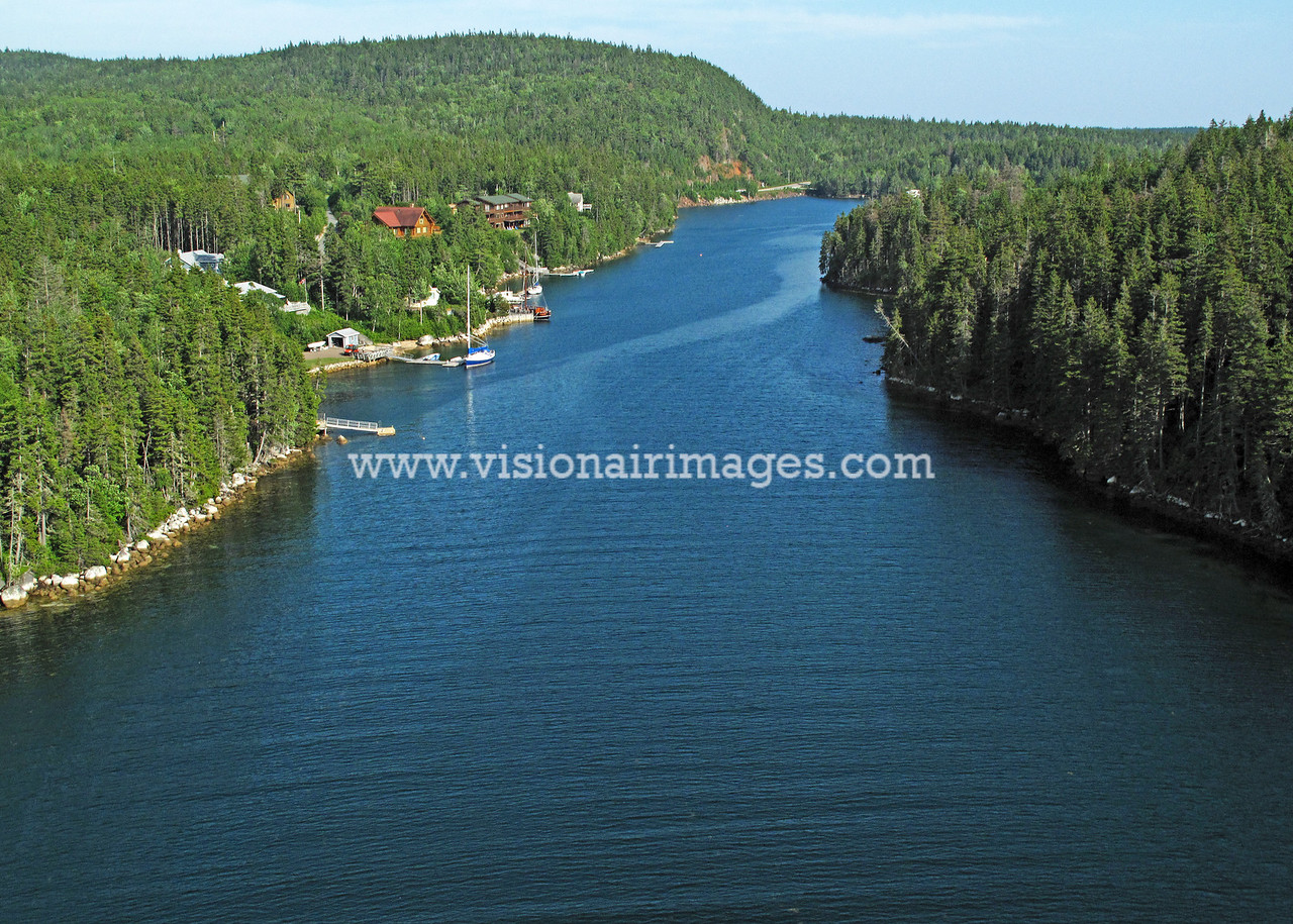 Deep Cove, Blanford Peninsula, Nova Scotia, Canada