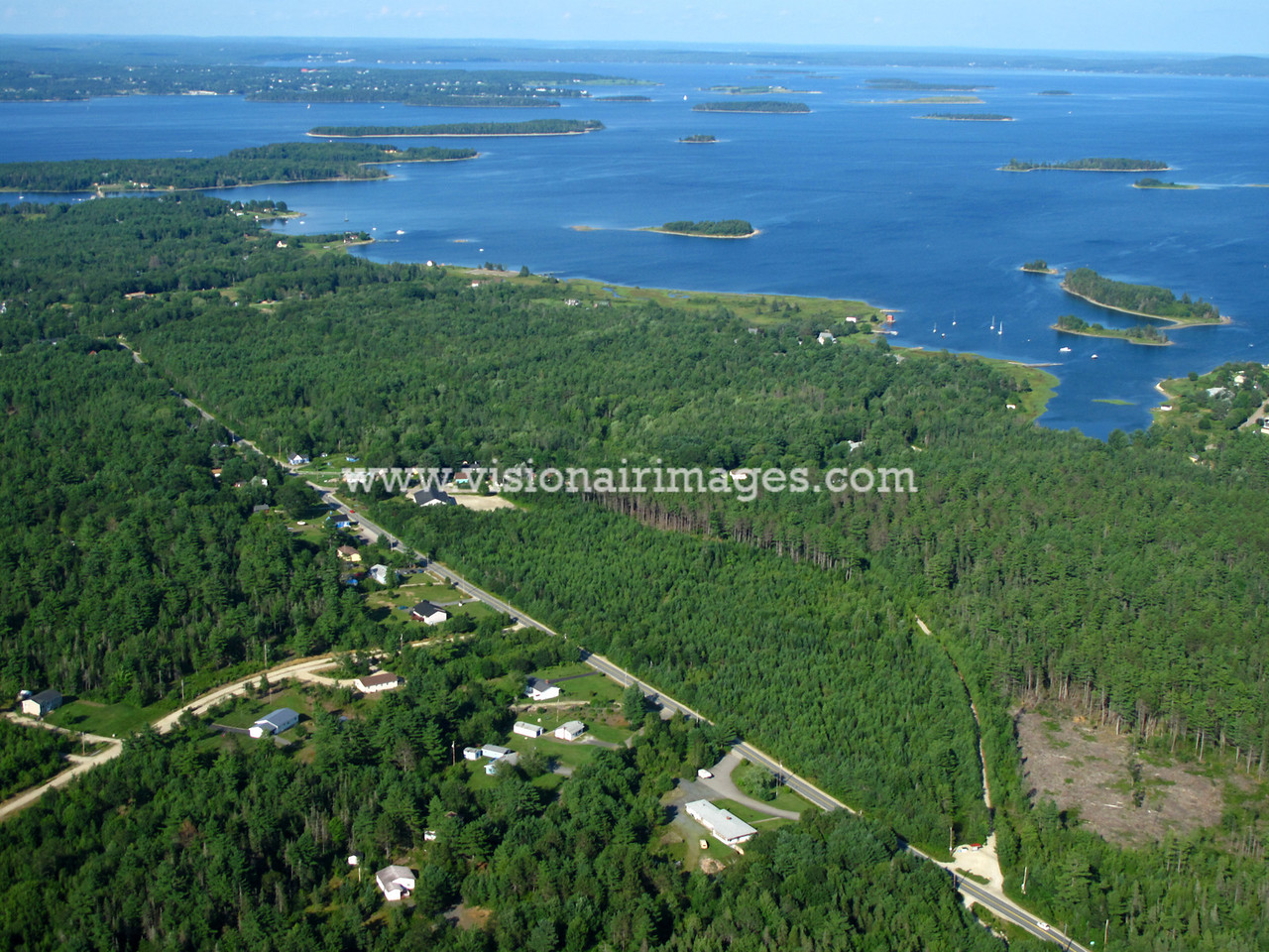 Western Shore, Mahone Bay, Oak Island, Nova Scotia Canada