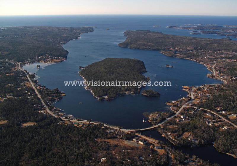 Shad Bay, Aerial, Shad Bay Aerial, Nova Scotia, Canada