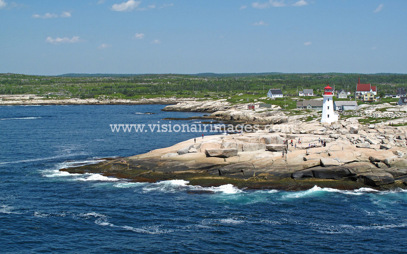 Peggy's Cove Light, Peggy's Point, Route, Sou'Wester, Nova Scotia, Canada