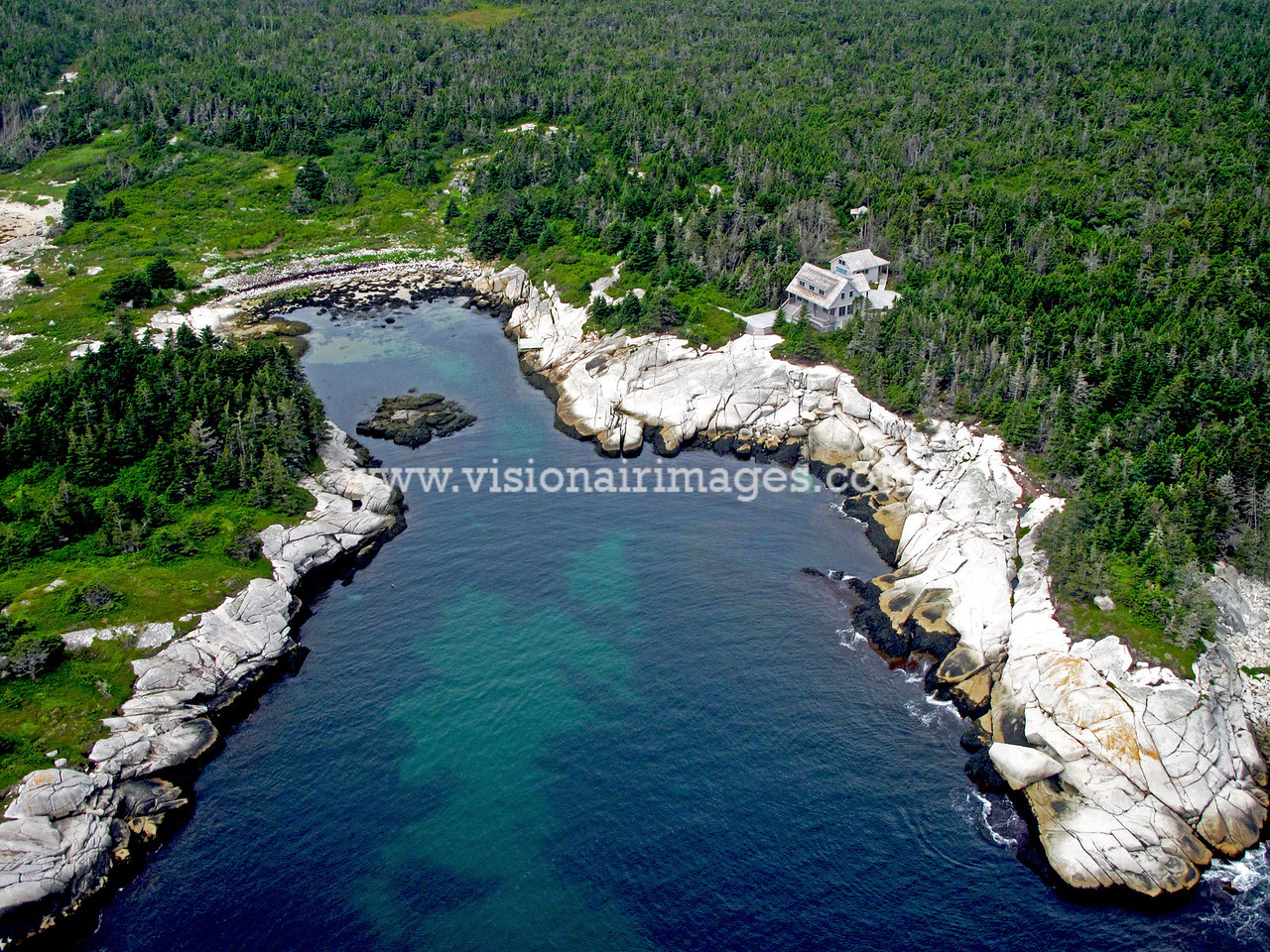 Remote Home, Betty's Island, Propect, Lwr. Prospect, Lighthouse Route, Nova Scotia, Canada