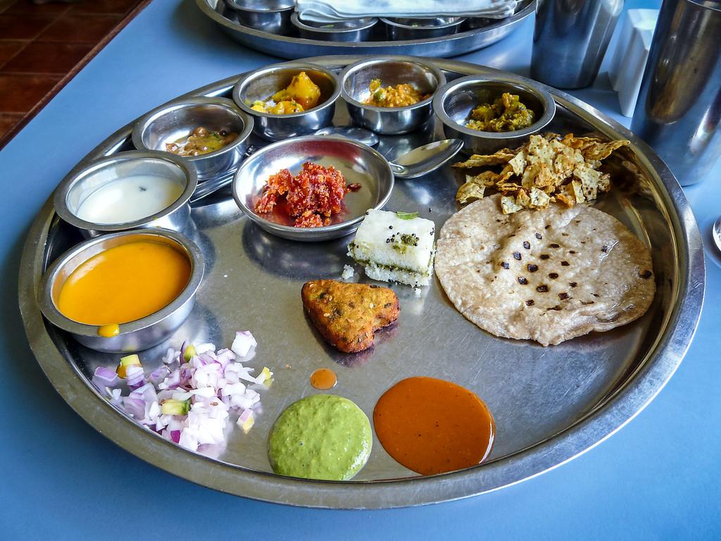 Gujurati Thali, Ahmedabad