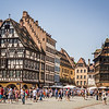 Sunday on the Square, Strasbourg, France
