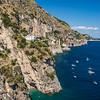 Precarious Houses Along the Amalfi Coast
