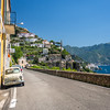 On the Road to Amalfi, Italy