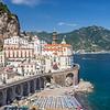 View of Atrani from Above, Amalfi Coast