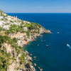 Looking Back at Praiano, Amalfi Coast, Italy