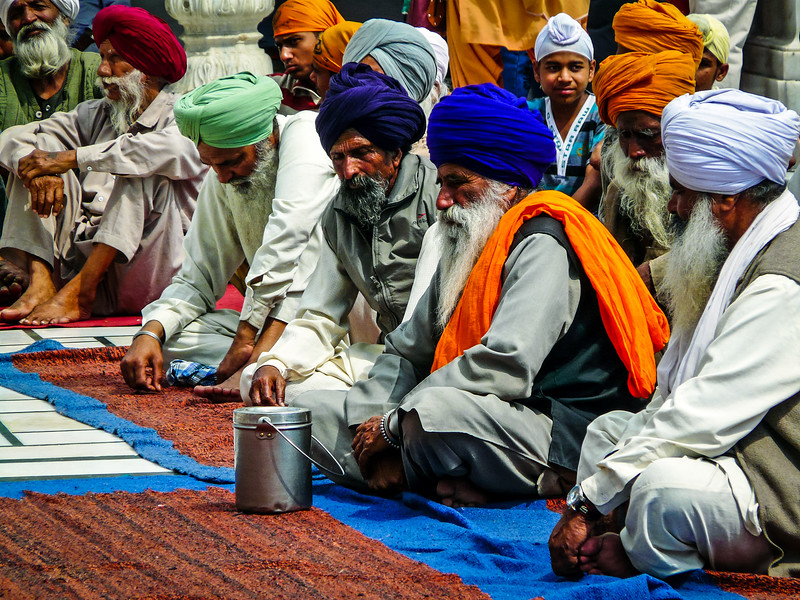 Wise Men at Akal Takhat, Amritsar, India