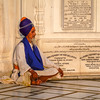 Meditating Man, Golden Temple, Amritsar
