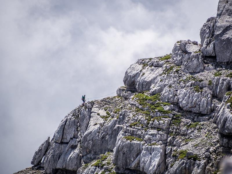 Lone Climber, Austria