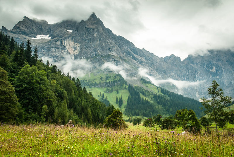 Clouds over the Alm, Eng, Austria