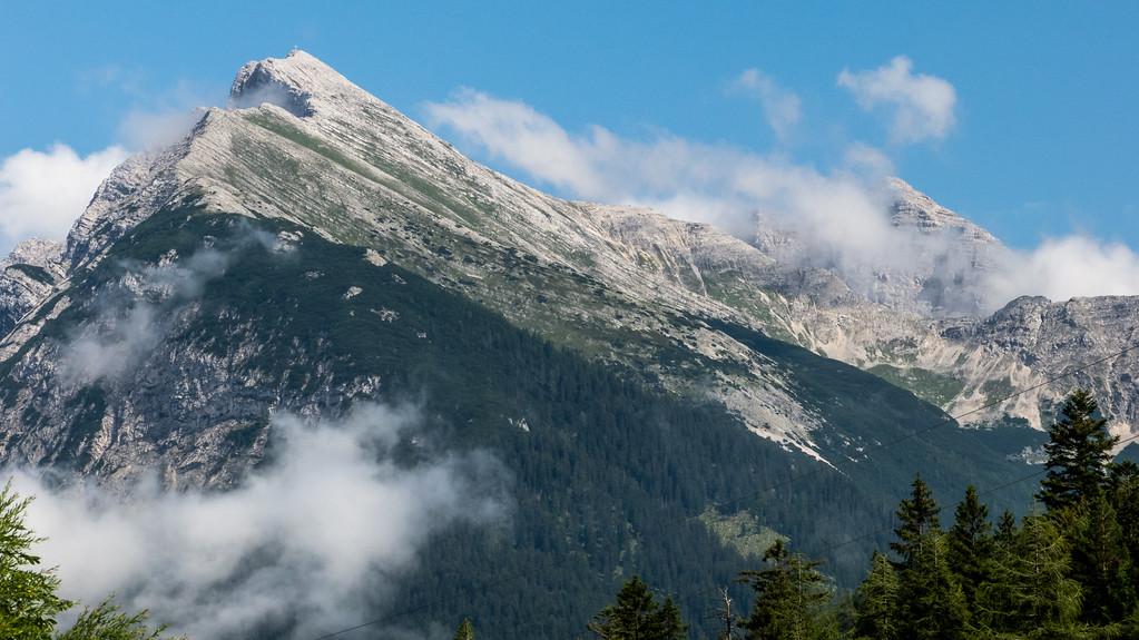 Wo wir waren, Pleisenspitze, Austria