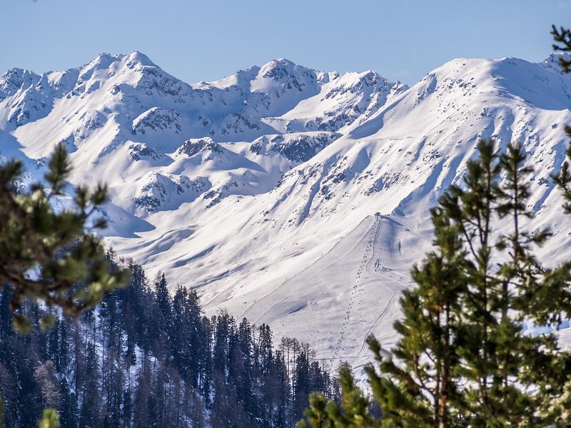 Tirolean Ski Resort, Oberinntal, Austria