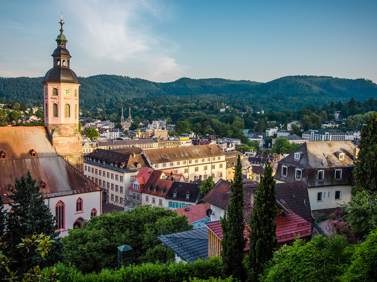 Overlooking Baden Baden, Germany