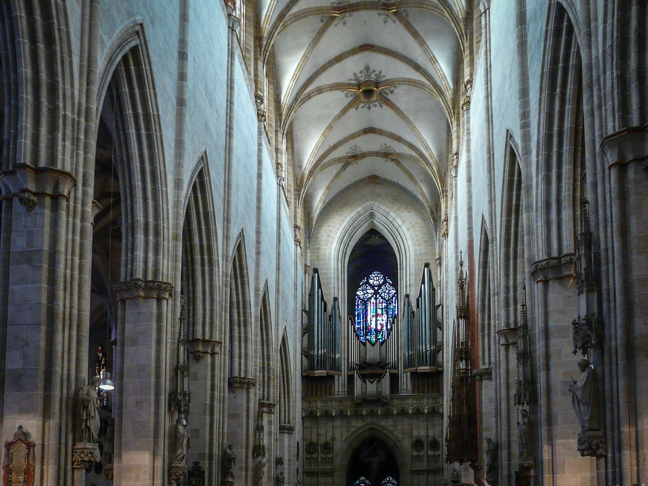 Inside the Ulm Cathedral