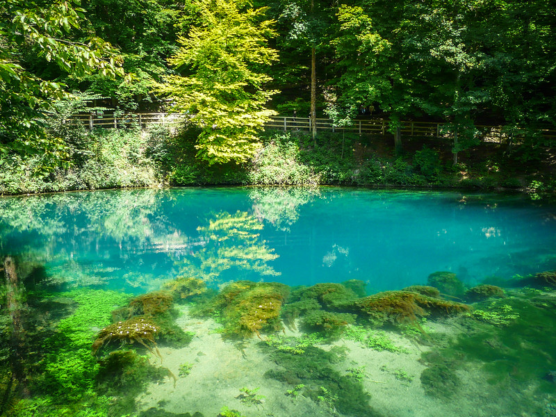 Clear Springwater, Blautopf, Blaubeuren