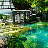 Clear Water Reflection, Blautopf, Blaubeuren