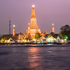 Night on Wat Arun, Bangkok, Thailand