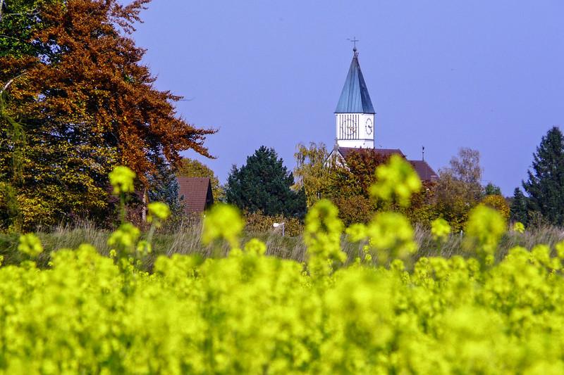Church Over the Rapseeds, Fürstenfeldbruck
