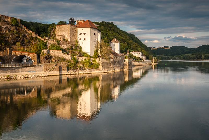 Donau Dämmerung, Passau