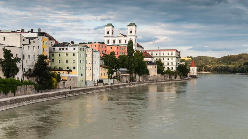 End of the Inn, Passau