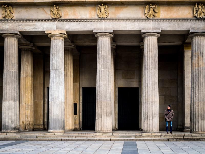 Pillars, Berlin, Germany