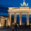 Brandenburg Gate by Night, Berlin