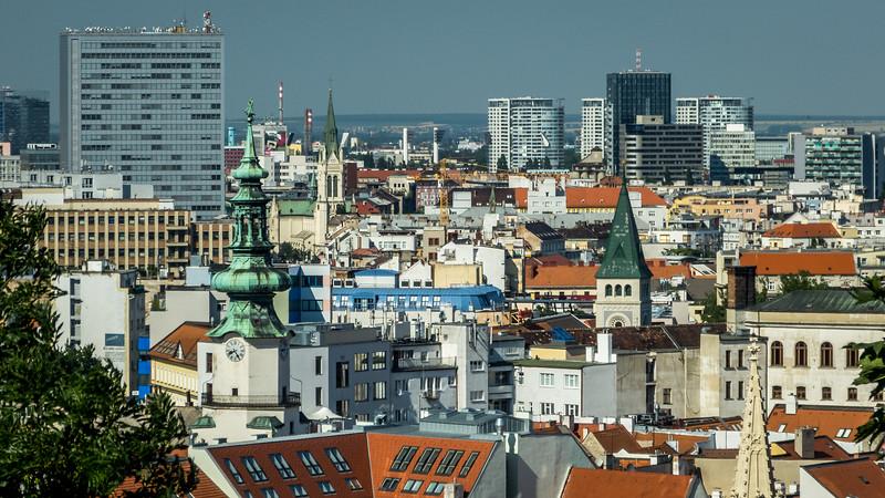 Towers of Bratislava