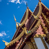 Roof and Gables of Wat Hua Khwang, Chiang Mai
