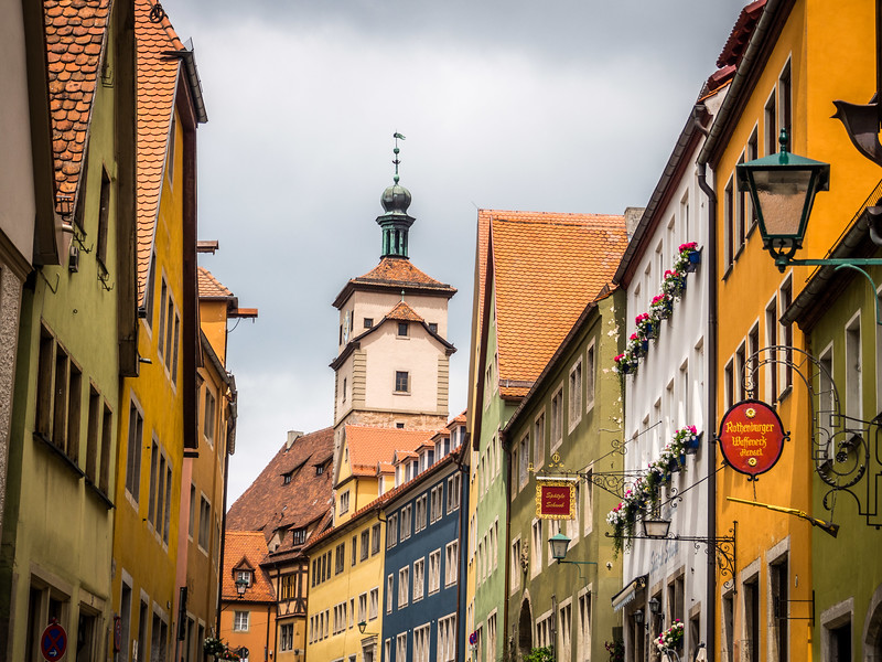 Colors Above the Alley, Rothenburg