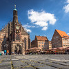 Church and Market, Nürnberg