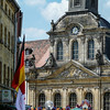 Bayreuth Church and Flag
