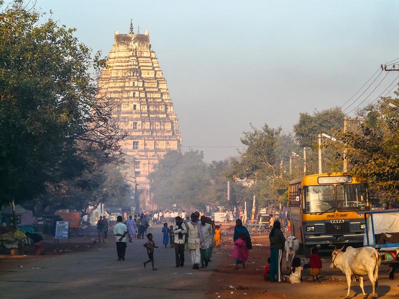 Morning in Hampi Village, India
