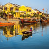 Yellow Houses on the River, Hoi An, Vietnam