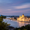 Twilight on the Danube, Budapest