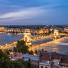 Evening Danube Comes Alive, Budapest