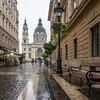 Szent István Bazilika and Alleyway, Budapest, Hungary