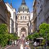 Strolling by Szent István's, Budapest